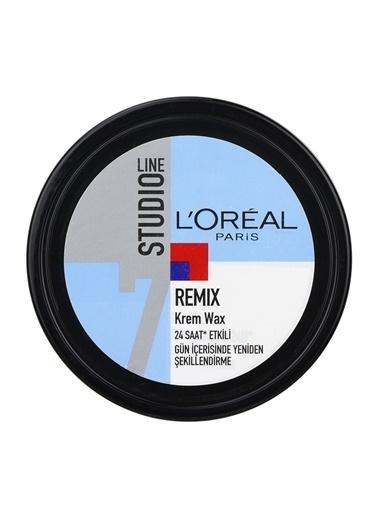 L'Oréal Paris L'Oreal Studio Line Remix Krem Wax Renkli